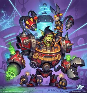 Bomb warrior hearthstone
